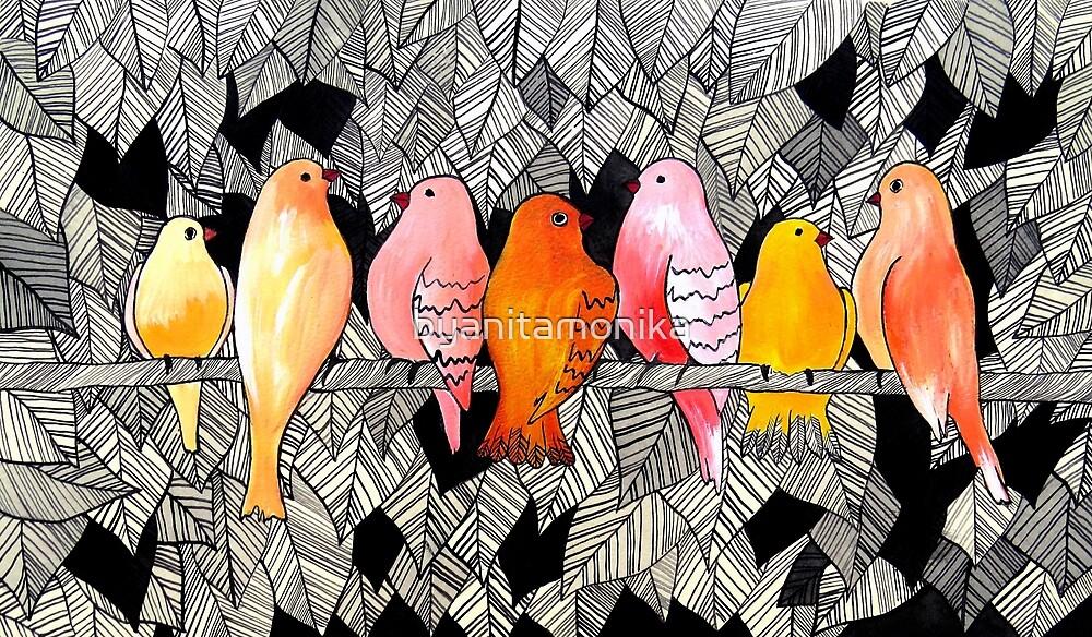 Birds by byanitamonika
