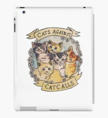 CATS AGAINST CAT CALLS iPad Case/Skin