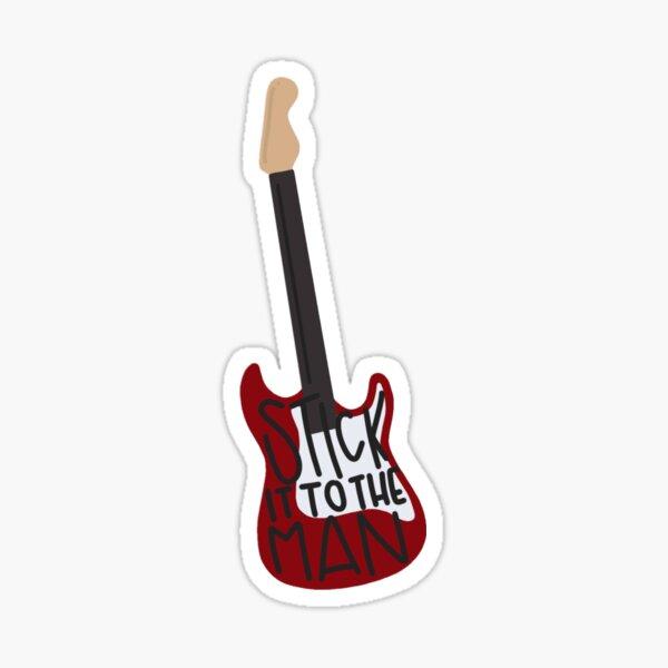 School of Rock - Stick it to the Man Sticker