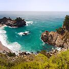 McWay Cove Panorama by Mark Ramstead