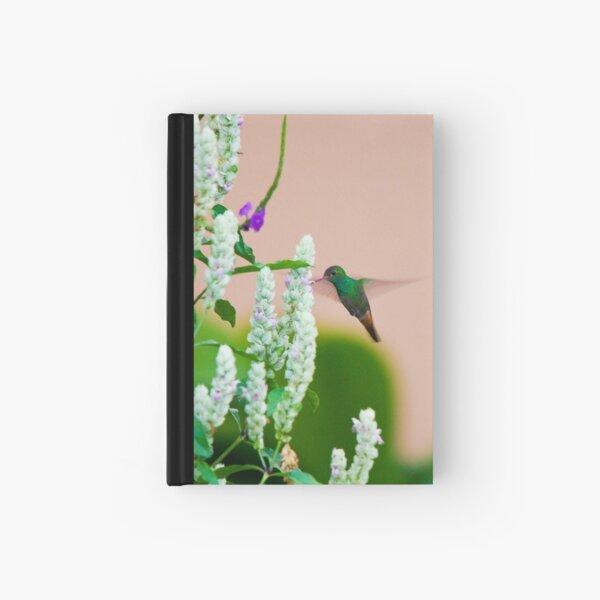 Hummingbird (vertical) In Costa Rica Hardcover Journal