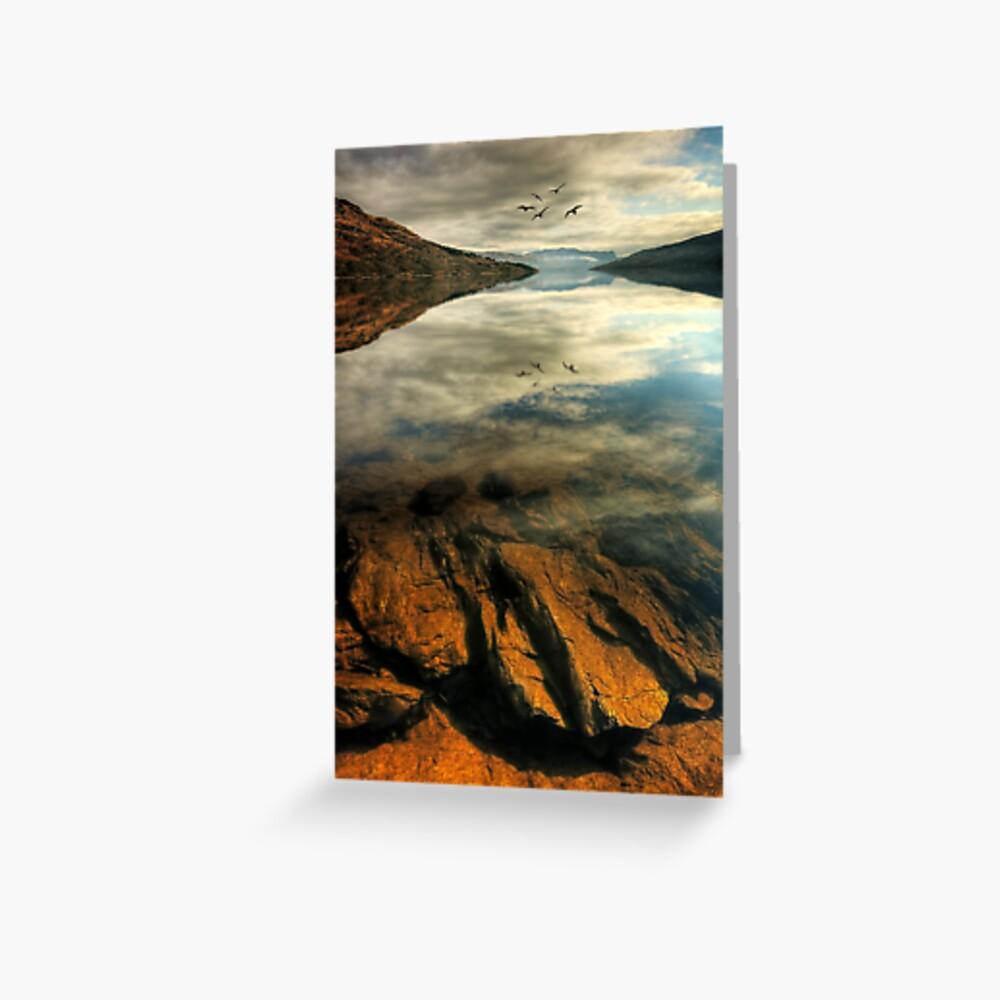 Katrine Rocks (1) Greeting Card