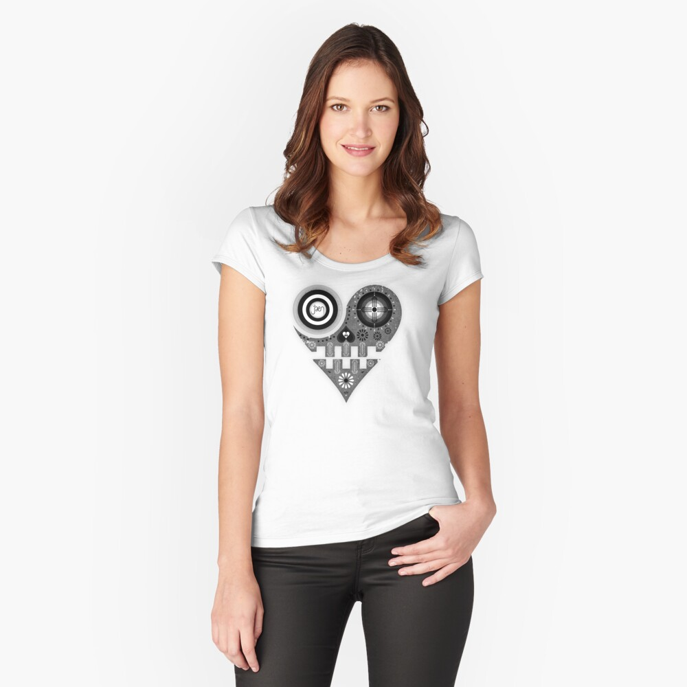 Unconditional Love Women's Fitted Scoop T-Shirt Front