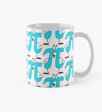 Pi Cartoon Character Classic Mug