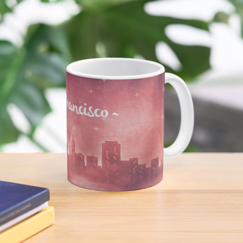 San Francisco at Night Mug