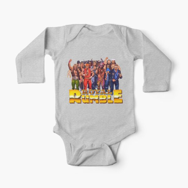 1991 Rumble! Long Sleeve Baby One-Piece