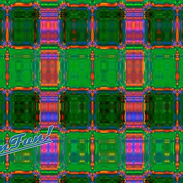 Madras Plaid (Remember the 60s?) by KaleiderArt