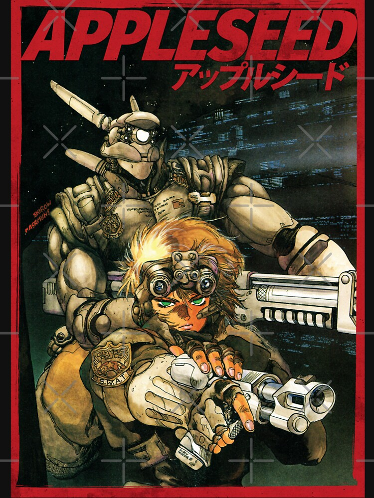 APPLESEED - 80's Anime Cyberpunk Military Action by SonnyBone