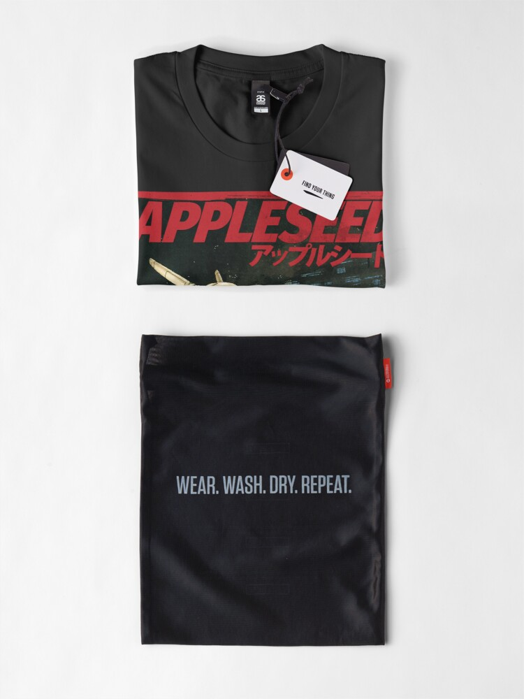 Alternate view of APPLESEED - 80's Anime Cyberpunk Military Action Premium T-Shirt