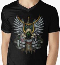 Dark Angels Heraldry MK VIII T-Shirt mit V-Ausschnitt für Männer