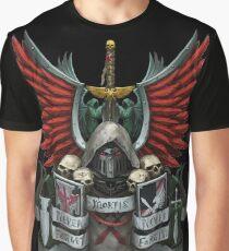 Camiseta gráfica Heráldica de los ángeles oscuros antes de la herejía