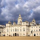 StormySky Over the Horse Guards Building, London, England by Christine Smith