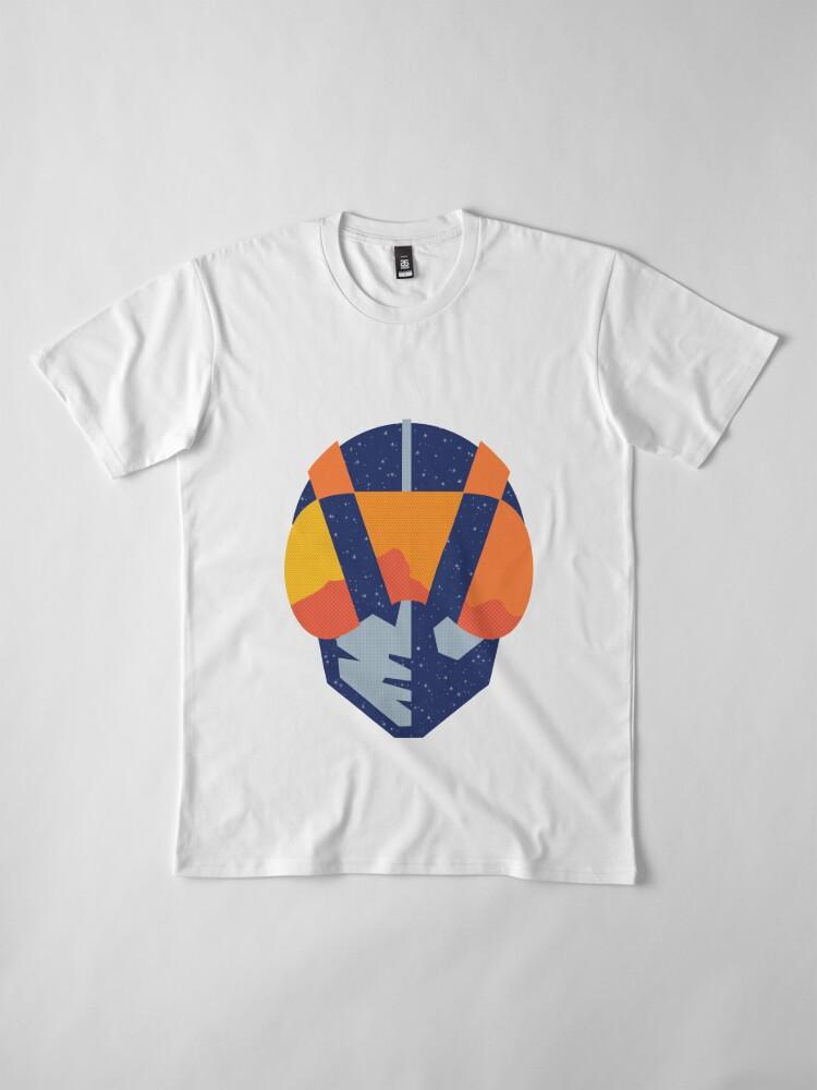 Alternate view of Art Las Vegas aviators logo Premium T-Shirt