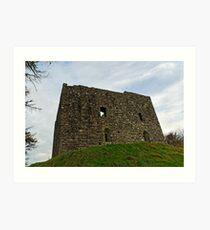 Lydford castle, Dartmoor, Devon, UK Art Print
