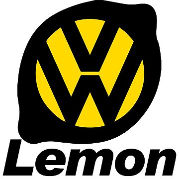 VW Lemon Car - Black by parodywagon