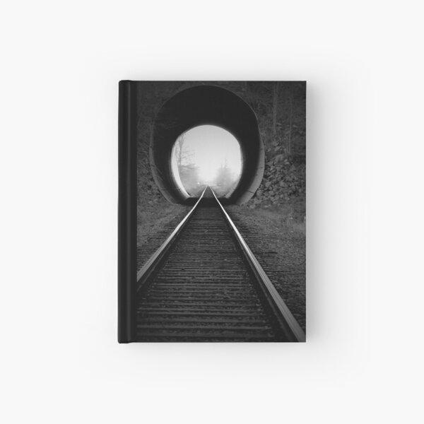 Train Tracks  Hardcover Journal