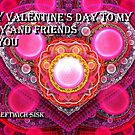 wishing you a happy valentine's day by LoreLeft27