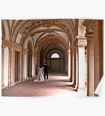 The wedding. Convento de Cristo Poster