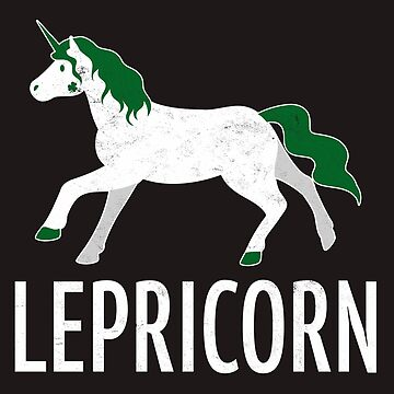 St. Patricks Day Shirt  Lepricorn Irish Charms Gift Tee  by arnaldog
