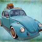Blue Bug by K and K Hawley