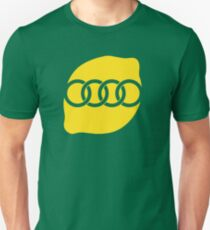 Audi Lemon Car - Yellow T-Shirt