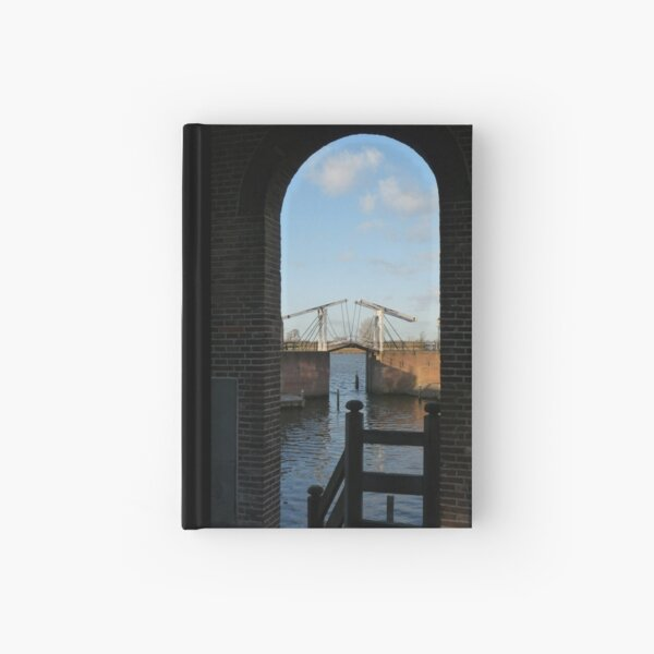 Bridge of Heusden Hardcover Journal