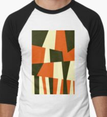 OrangeGreen Baseball ¾ Sleeve T-Shirt