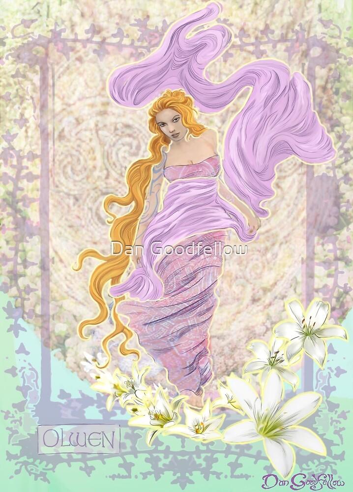 Celtic Goddess - Olwen by Dan Goodfellow