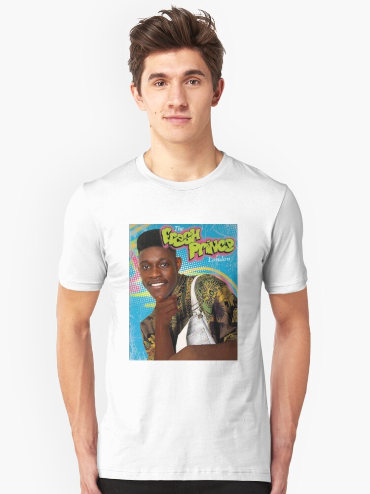 Danny Wellbeck is the Fresh Prince of London Unisex T-Shirt Front
