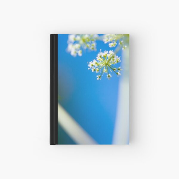 Cow Parsley (Anthriscus sylvestris) Hardcover Journal