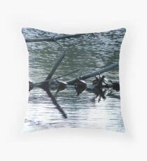 Septuplets At The Day Spa Throw Pillow
