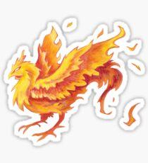 Fire Chicken!!! Sticker
