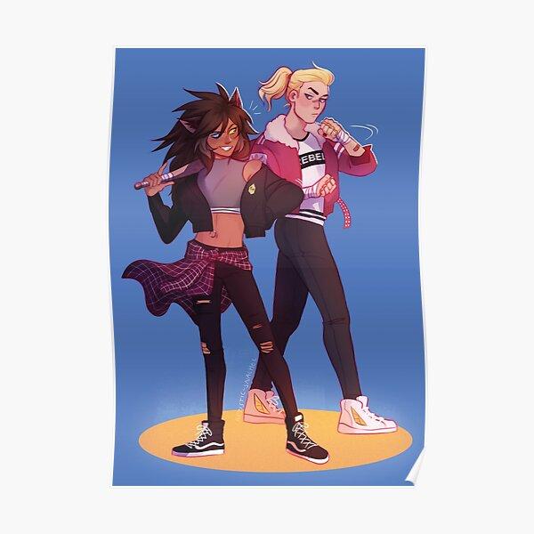 Catradora Girl Gang AU Poster