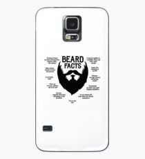 Beard Facts (black) Case/Skin for Samsung Galaxy