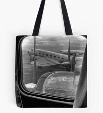 Scene from the Golden Age of Flight Tote Bag
