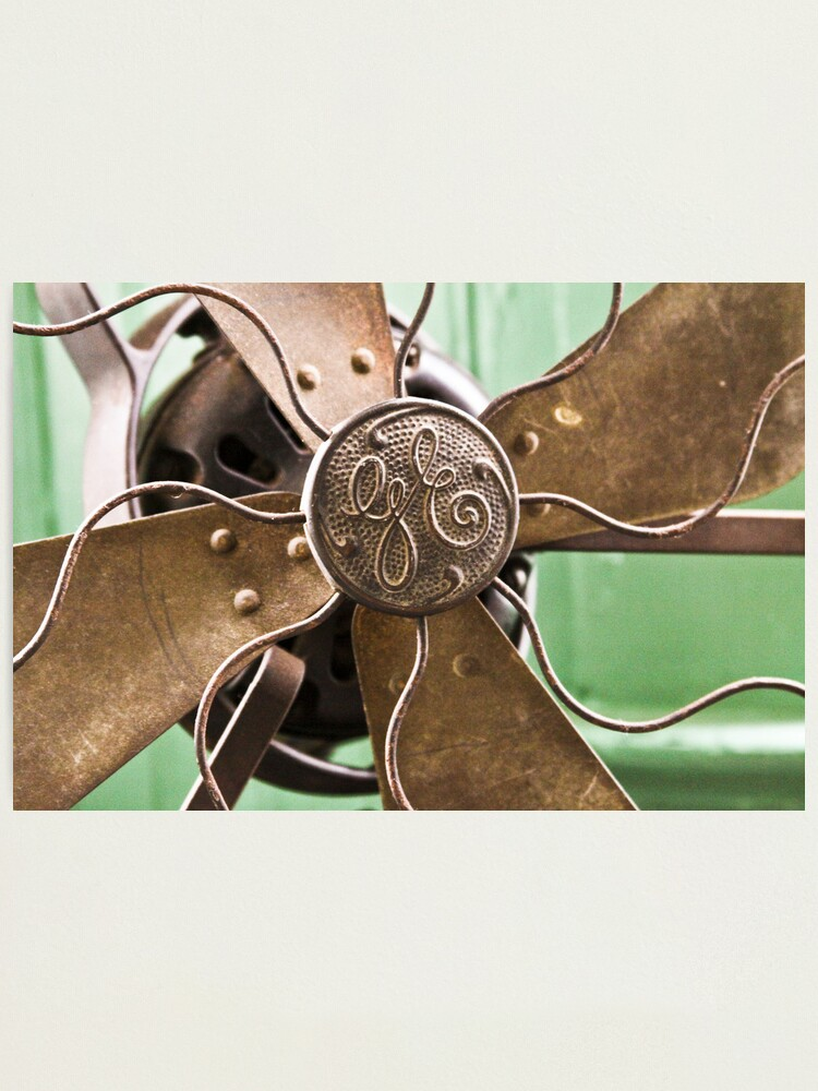 Alternate view of Vintage GE Fan Photographic Print