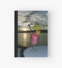 Strawberry Sunset Hardcover Journal