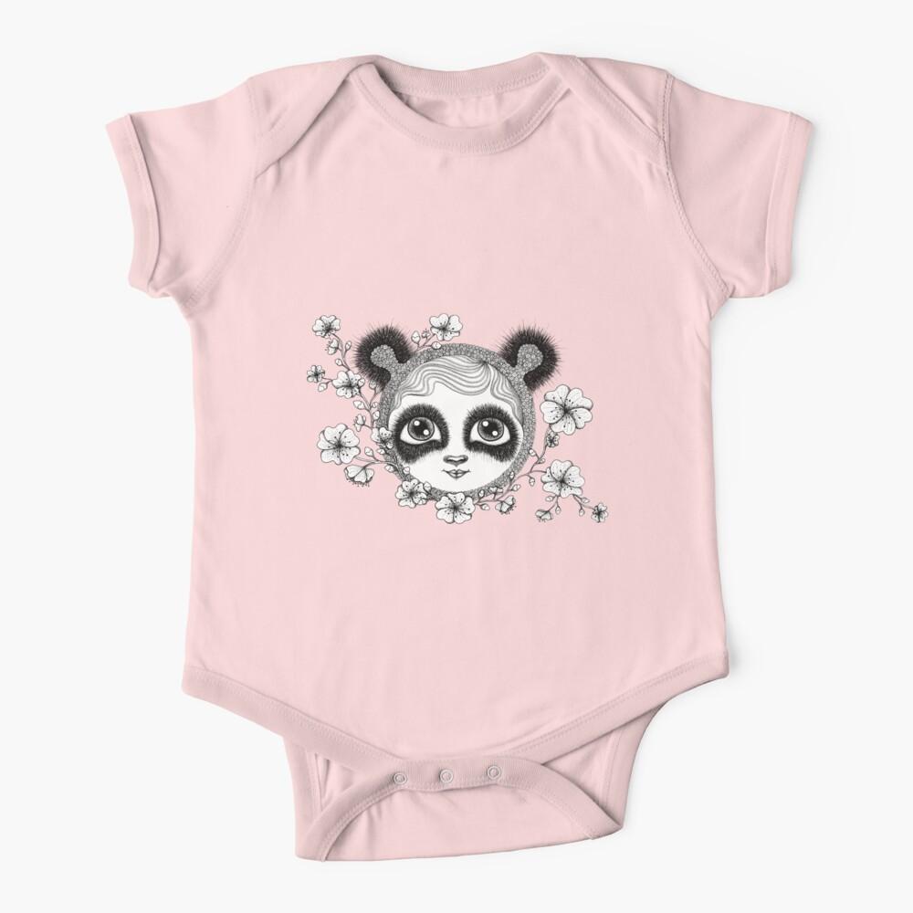 She's got panda eyes Baby One-Piece