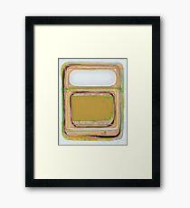 Cutter Number 2 2015 Framed Print