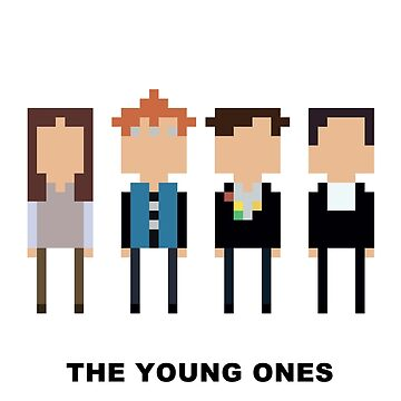 The Young Ones Mini-figure  by ComedyQuotes