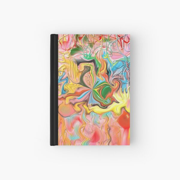 """Intestinal Whirls"" Print Hardcover Journal"