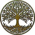 «Yggdrasil, árbol celta de la vida, árbol de la vida.» de Anne Mathiasz