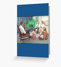 TV is Really Becoming Part of our Family! Greeting Card