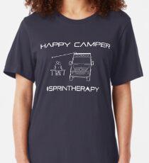 Happy Camper Slim Fit T-Shirt