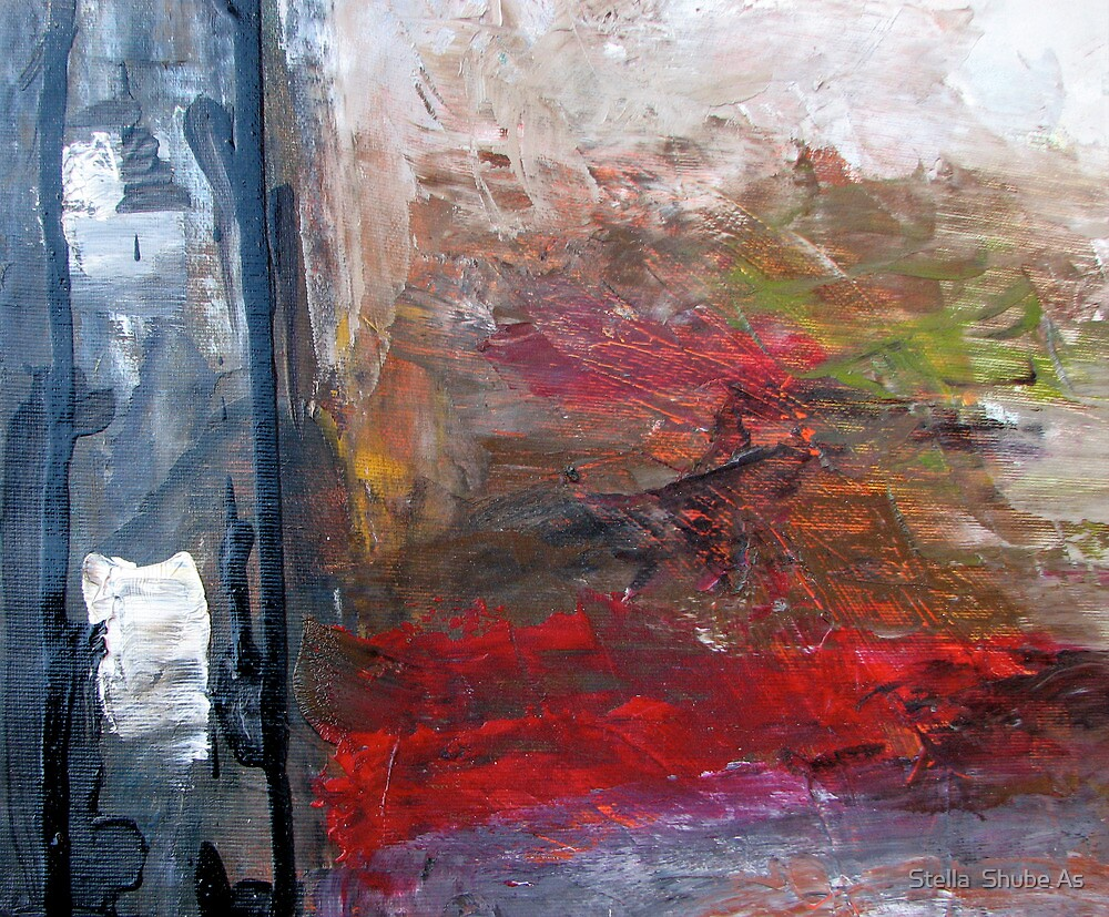 Window in the black by Stella  Shube As
