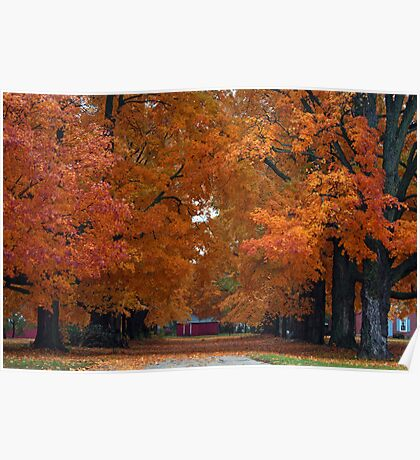 Autumn's Kiss Poster