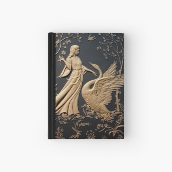 Leda and the Swan Hardcover Journal