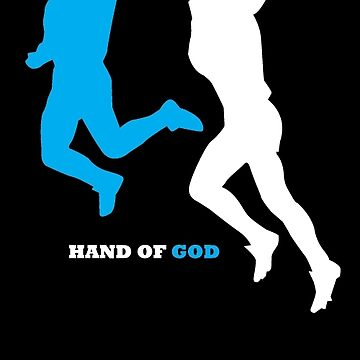 Maradona and the Hand of God by footees