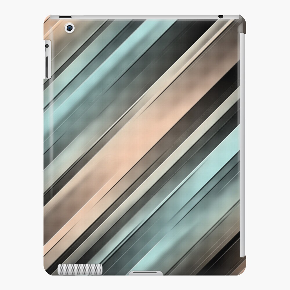 Gradient Stripes iPad Case & Skin
