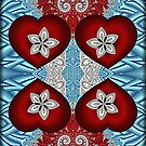 Blooming Hearts... by Roz Rayner-Rix